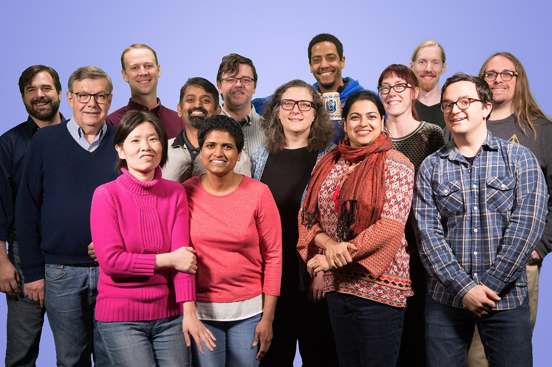 Group of ODEE team members