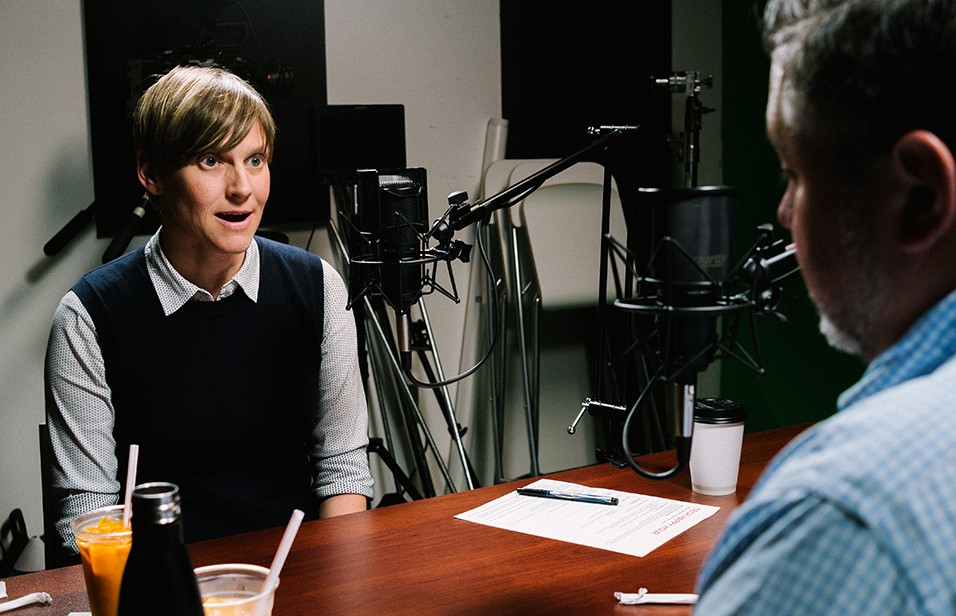 Liv Gjestvang speaks with Mike Hofherr